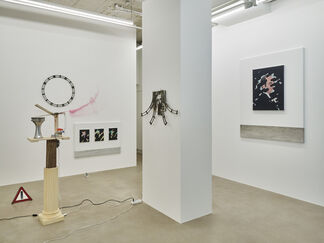 Tong Kunniao   WHEN DOG`S  MOUTH SPITS IVORY, installation view