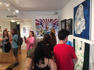 Space 776 at Aqua Art Miami 2015, installation view