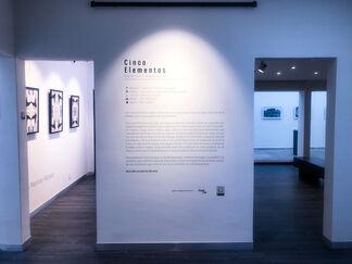 Cinco Elementos, installation view