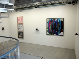 "Koeda Shigeaki ""Water reflecting in the moon"", installation view"