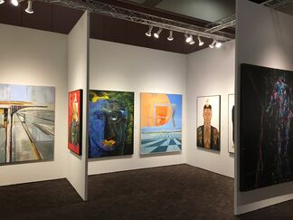Jorge Mendez Gallery at Art Palm Springs 2017, installation view