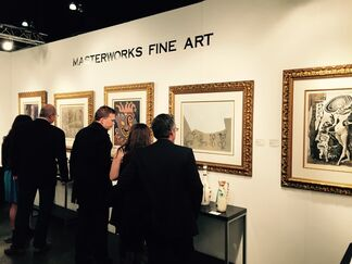 Masterworks Fine Art at LA Art Show 2015, installation view