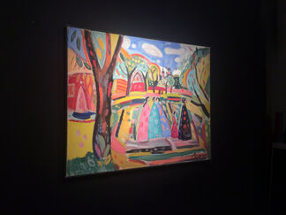 Russia in Color: An exclusive preview to a selection of works by the highly acclaimed Russian painter, Victor Razgulin., installation view