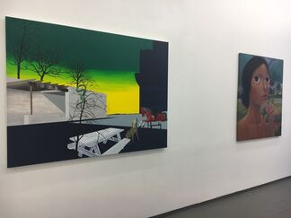 Almost Green, installation view