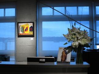 Ed Kamuda   Moving Through Autum, installation view