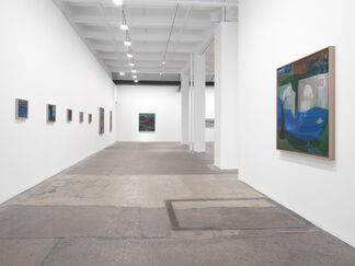 Ficre Ghebreyesus: Gate to the Blue, installation view