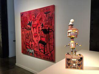 Seattle Deconstructed Art Fair, installation view