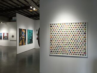 Amstel Gallery at Art Silicon Valley 2015, installation view