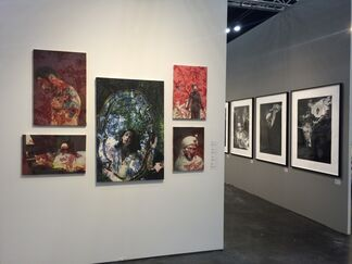 Edward Cella Art and Architecture at Texas Contemporary 2015, installation view