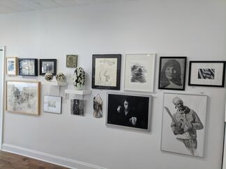 In Black & White, installation view