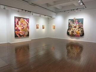 Aaron Johnson, Pisockophilia, installation view