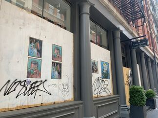 Street Gallery Project, installation view