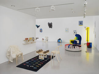 HOUSE PARTY with Dzek, installation view