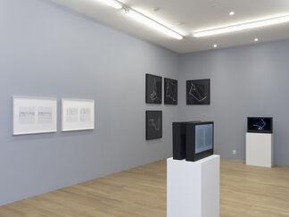 Manfred Mohr: Artificiata II, installation view