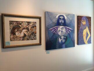 Three Dreamlike Expression, installation view