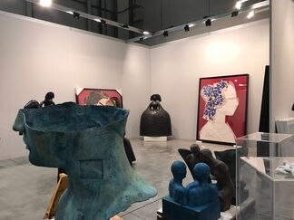 Contini Art Gallery at miart 2017, installation view