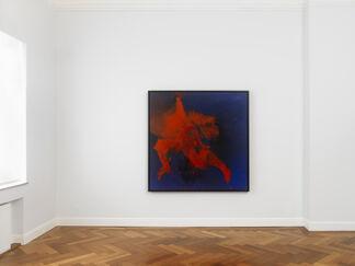 Otto Piene. Black Melt & Light Rays, installation view