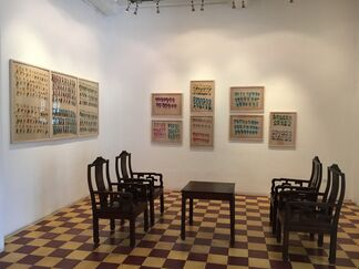 My Little Happiness - Solo Exhibition by artist Dinh Y Nhi, installation view