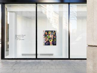 Alessandro Pessoli — Like a Free Life, installation view