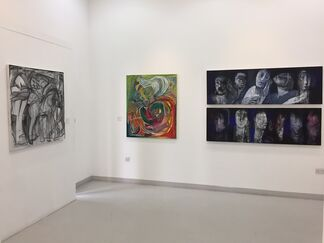 Contemporary Arab Art part 3, installation view
