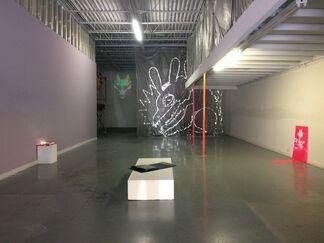 Digital Spheres, installation view