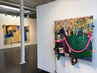 """""""Feral Re•Cognition"""" by John Yoyogi Fortes and """"#idigress"""" by Julia Couzens, installation view"""
