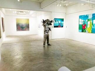 Posers II, installation view
