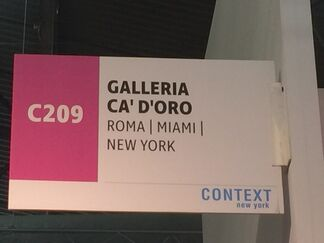 Galleria Ca' d'Oro at CONTEXT New York 2017, installation view
