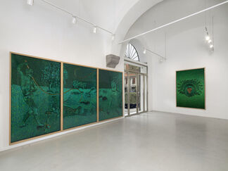 Jan Fabre. Tribute to Hieronymus Bosch in Congo, installation view