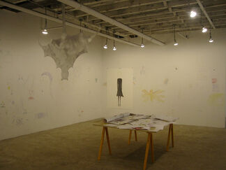 """Tam Ochiai - """"tail (exercises in punctuation)"""", installation view"""