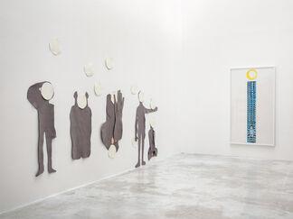 Anne-Marie Schneider - Le silence, installation view