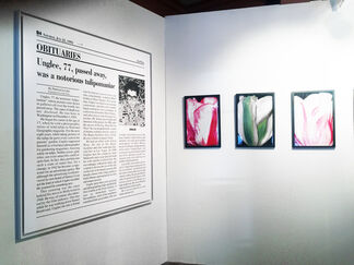 Galerie Christophe Gaillard at Paris Photo LA 2015, installation view