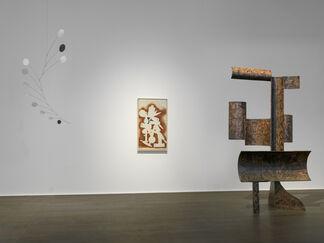 Alexander Calder / David Smith, installation view