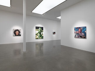 Richard Patterson, installation view