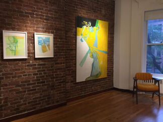 All That I've Seen: Paintings, Sculpture, and Works on Paper by James Moore (1938-2013), installation view