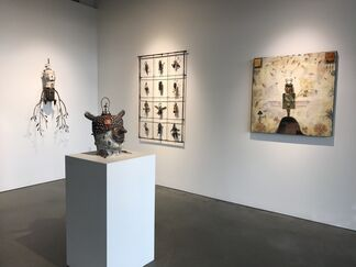 Marianne Kolb, Explorations with Rust & Morgan Brig, Inner Muse, installation view