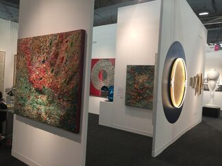 Donghwa Ode Gallery at CONTEXT New York 2017, installation view