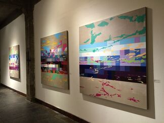 Anthony Vega: Disappearing Horizon, installation view