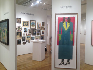FRED.GIAMPIETRO Gallery at Outsider Art Fair 2016, installation view