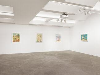 Vangelis Pliarides: Traveling Watercolors 2007-2017, installation view