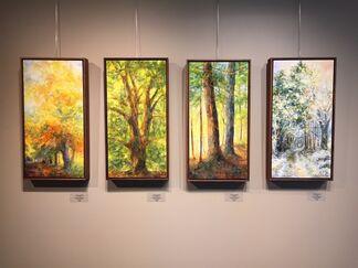 Susan Wahlrab: Seasons, installation view