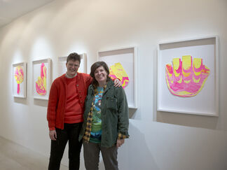 The Joi of Lyfe: Caroline Wells Chandler & Larry Lewis with works by Loren Britton, installation view