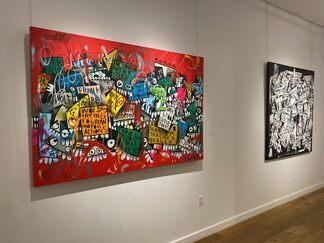 The Urban Cubist by FLORE, installation view