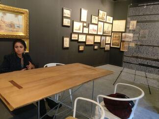 Swaraj Art Archive at India Art Fair 2017, installation view