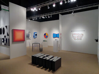 David Richard Gallery at Downtown Fair 2014, installation view
