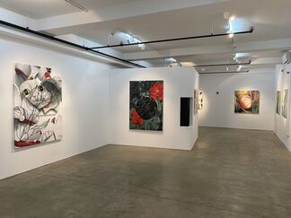 """James Evans: """"A Manner of Forgetting"""", installation view"""