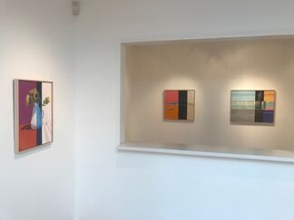 Solitary Shadows + Fine Line, installation view