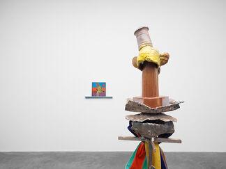 Alessandro Pessoli — Testa Matta, installation view