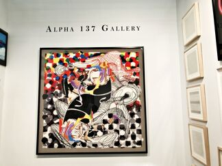 Alpha 137 Gallery at Artexpo | New York 2017, installation view