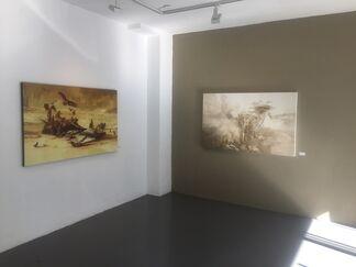 When Worlds Collide, installation view